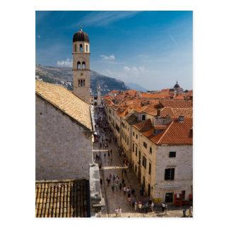 Postal de Dubrovnik, Croacia