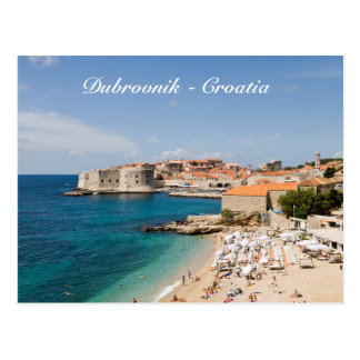 Postal de Dubrovnik - de Croacia
