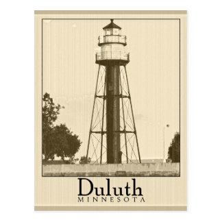 Postal de Duluth Minnesota del vintage