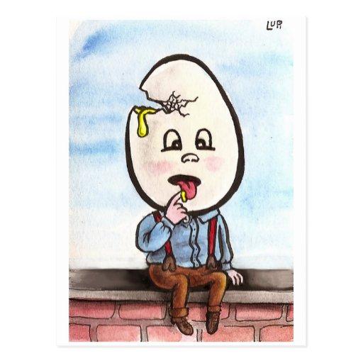 Postal de Dumpty del zombi