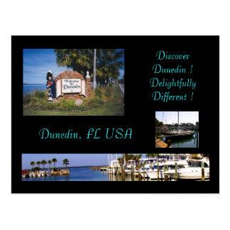 Postal de Dunedin la Florida Torism
