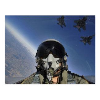 Postal de Eagle de la huelga de F-15E