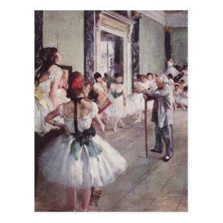 Postal de Edgar Degas