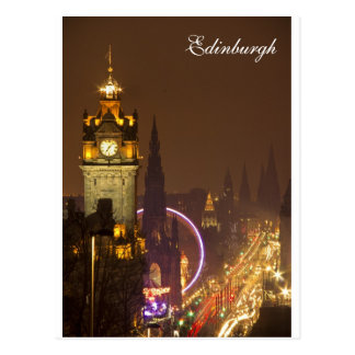 Postal de Edimburgo