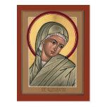 Postal de Elizabeth del santo