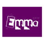 Postal de Emma
