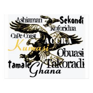 Postal de encargo de Africankoko Ghana