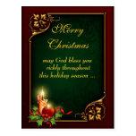 Postal de encargo de las Felices Navidad