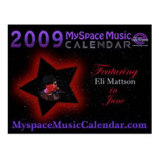 POSTAL DE ENCARGO de MMC2009 ELI MATTSON en junio