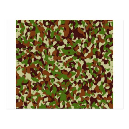 Postal de encargo del camourflage de Africankoko