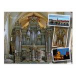 Postal de Erfurt y de los órganos