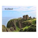 Postal de Escocia con el castillo hermoso