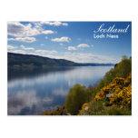 Postal de Escocia - de Loch Ness