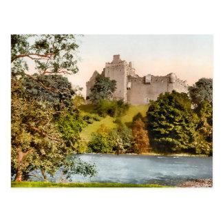 Postal de Escocia del castillo de Doune del