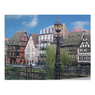 Postal de Estrasburgo Francia