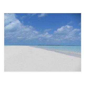 Postal de Exumas Bahamas del galán