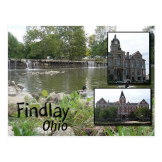 Postal de Findlay Ohio