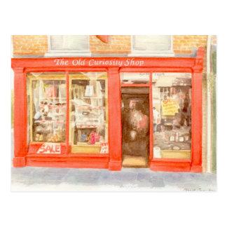 Postal de FineArt - la tienda vieja de la curiosid