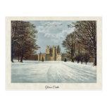 Postal de Forfar Escocia del castillo de Glamis