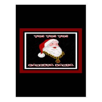 Postal de Gangsta Santa