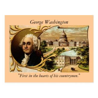 Postal de George Washington