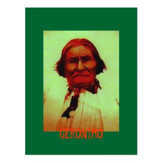 Postal de Geronimo