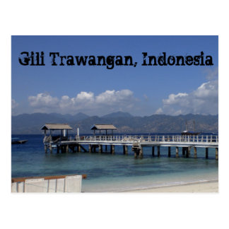 Postal de Gili Trawangan
