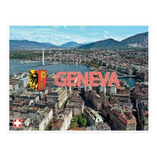 Postal de Ginebra - de Suiza