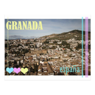 Postal de Granada España