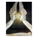 Postal de Guillermo Blake: Cristo guardó por ángel