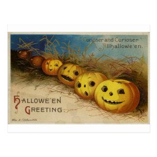 Postal de Halloween