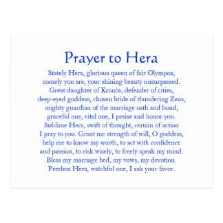 Postal de Hera