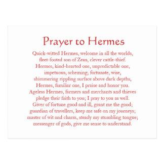 Postal de Hermes
