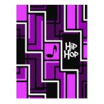 Postal de Hip Hop, personalizable