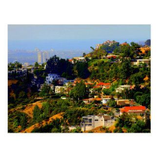 Postal de Hollywood Hills, California
