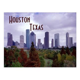 Postal de Houston Tejas