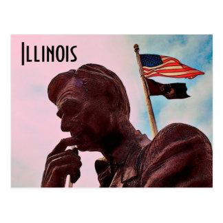 Postal de Illinois