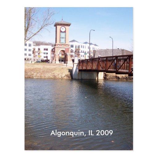Postal de Illinois del Algonquin
