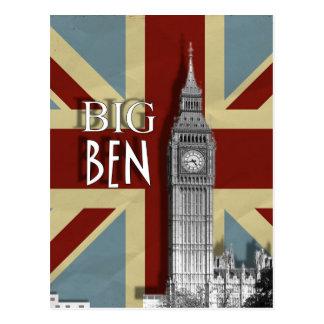 Postal de imagen británica de Big Ben Londres Unio
