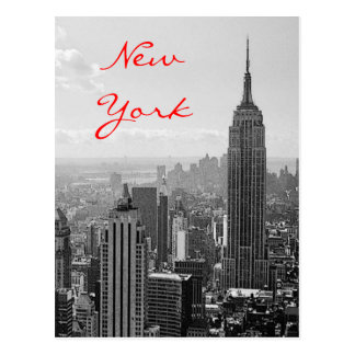 Postal de imagen vieja del viaje de New York City
