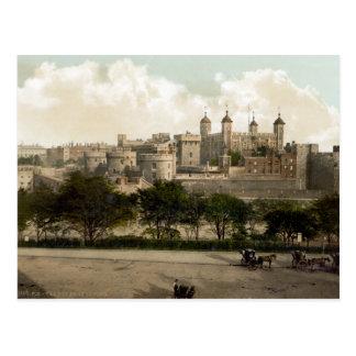 Postal de Inglaterra del vintage torre de Londres