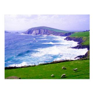 Postal de Irlanda de la cañada