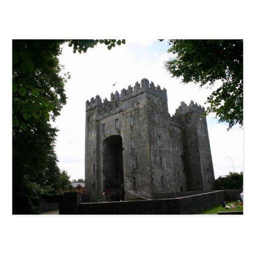 Postal de Irlanda del castillo de Bunratty