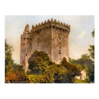 Postal de Irlanda del castillo de la lisonja del