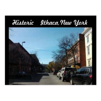 Postal de ITHACA HISTÓRICO, NUEVA YORK