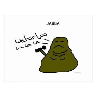 Postal de JABBA