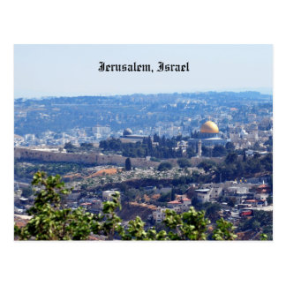 Postal de Jerusalén, Israel