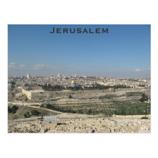 Postal de Jerusalén