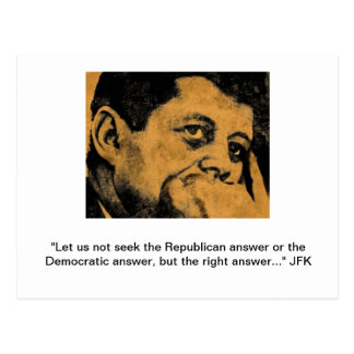 Postal de JFK