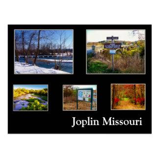 Postal de Joplin Missouri Shoal Creek